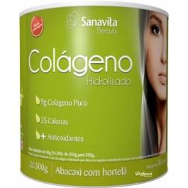 Colágeno Hidrolisado (300g) abacaxi com hortelã