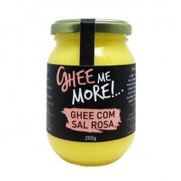Manteiga Ghee com Sal Rosa (200g)