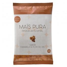 Pipoca Artesanal Mais Pura (150g) caramelo e flor de sal