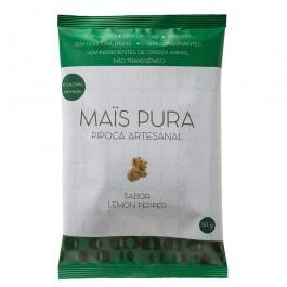 Pipoca Artesanal Mais Pura (50g) lemom pepper