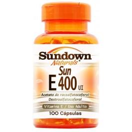 Vitamina E 400UI (100 cápsulas)