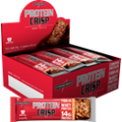 Protein Crisp Bar (display com 12 barras) peanut butter