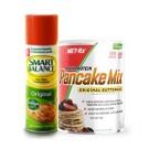 Pancake Mix (908g) + ISO 42 Whey Isolaate (591ml) + Smart Balance Spray