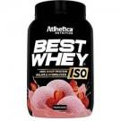 Best Whey ISO (900g) morango > validade 01/20