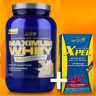 Kit Definição (Maximum Whey 900g + Xpel)
