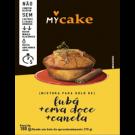 myCake fubá + erva doce + canela (180g)