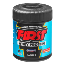 FIRST Pasta de Amendoim Integral com Whey Protein (500g)