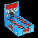 Tablete First Amendoim com Whey Protein (display com 24 unidades)