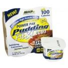 Power Pak Pudding Fit & Lean (display com 4 unidades de 128g) baunilha