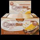 Quest Bar (display com 12 barras) biscoito s'mores