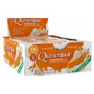 Quest Bar (display com 12 barras) torta de abóbora