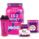 Combo Fullife (Iso Whey for Women + Thermo Cutter + Colágeno Life for Women + Coqueteleira Fullife)